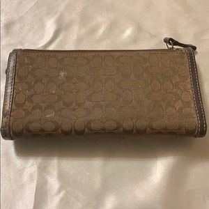 Coach Bags - Coach wallet (used)